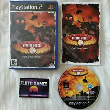 Jeu CT Special Forces Fire For Effect pour PS2 Complet CIB PAL FR - Floto Games