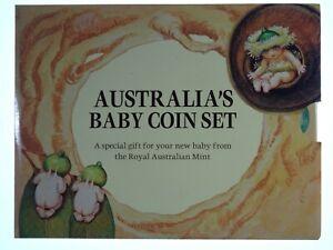 1993 Royal Australian Mint Gumnut Baby Uncirculated Coin Set