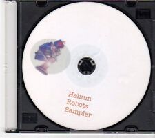 (EY28) Helium Robots, sampler - DJ CD