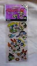 Powerpuff Girls Dancing Guitar Stickers Prism Mojo Jojo Cartoon Network