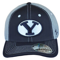 NCAA Zephyr Brigham Young Cougars Curved Flex Fit Stretch Small Hat Cap