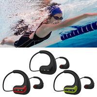 S1200 8GB Auricolari Sport Bluetooth FM Radio Gym Swim Auricolare con Microfono