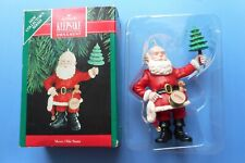 Vtg Collectible 1990 Hallmark Keepsake Merry Olde Santa Christmas Ornament