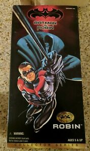 ROBIN 12-in Collector's Series BATMAN & ROBIN Special Edition1997 Kenner