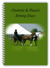 A5 PERSONALISED EQUINE HORSE & RIDER DRIVING COMPETITION LOGBOOK DIARY 50 PGS 1