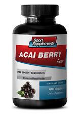 Fast Weight Loss Pill - Acai Berry Lean 550mg - Pure Acai Berry Bulk 1B