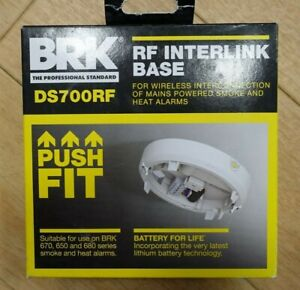 BRK DS700RF Wireless Interconnection Base to interlink Smoke & Heat Alarms NEW
