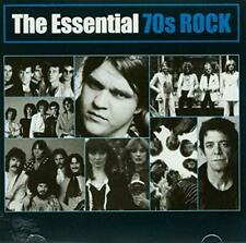 The Essentials:  70s ROCK Various (CD, 2009 SONY)