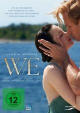 W.E. (ABBIE CORNISH/JAMES D'ARCY/MADONNA/ANDREA RISEBOROUGH/+) DVD  DRAMA  NEU