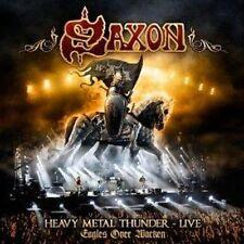 Saxon-Heavy Metal Thunder Águilas en vivo en (nuevo 2 X Cd)