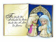 Precious Moments Holy Family Table Top Book Figurine