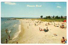 Pleasure Beach, Waterford, CT Connecticut, chrome Postcard
