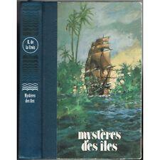 MYSTÈRES des ÎLES par R. de la CROIX Galapagos Baronne de WAGNER Pirates de KIDD