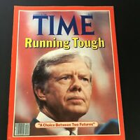 VTG Time Magazine August 25 1980 - Jimmy Carter Running Tough / Newsstand