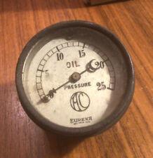 EUREKA OIL PRESSURE GAUGE MORRIS 8 vintage austin 7 10 riley wolseley mg 1920s ?