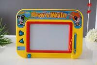 Magnetic Drawing Board For Kids Erasable Colorful Classic Doodler With 2 Stamper