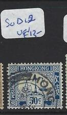 HONG KONG   (PP0110B) POSTAGE DUE 50C   SG D12     VFU