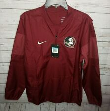NIKE FLORIDA STATE SEMINOLES FSU MEN'S SZ MEDIUM DRI-FIT PULLOVER JACKET NWT