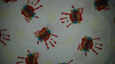 LINED VALANCE 42X12 GLOW IN THE DARK VINTAGE COCA COLA SODA POP RED HANDED