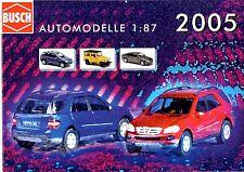 Catalogue Busch Automodelle 2005
