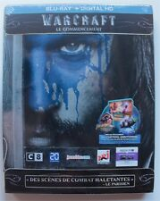 Warcraft Le Commencement - Steelbook Edition [Blu-ray] New !!