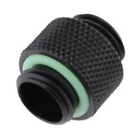 10mm G1/4 External Thread Hose Connector Fittings Adapter for PC Water Cooling