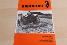 144326) rabewerk cultivadora cac folleto 08/1982