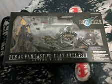 Final Fantasy 7 play arts cloud with motorcycle