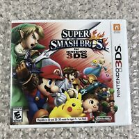 Super Smash Bros. (Nintendo 3DS, 2014) 2DS Brand New & Sealed
