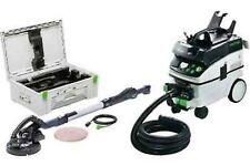 Festool Ponceuse long cou LHS 225-sw + CTM 36 Set 575456 EXTRACTEUR MOBIL PLANEX