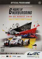 6h Nürburgring 2015 8/15 Rennprogramm Programmheft Rennen Official Programme