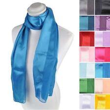 Sciarpe, foulard e scialli da donna tinta unita in raso
