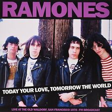 LP Ramones Today Your Love Tomorrow The World live San Francisco 1978 VINILE