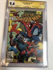 Web of Spider-Man (1993) # 97 (CGC 9.4 SS) | Signed Saviuk | 1st App Nightwatch