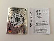 Panini Euro 2016 Ek Em Sticker France Logo no. 234 Germany -  Mint