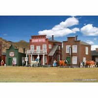 KIBRI 38501 1/87 MAQUETTE HO KIT 3 MAISONS FAR WEST SERIE HOTELS H0
