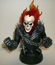 "GHOST RIDER RESIN 7"" BUST BY GENTLE GIANT STUDIOS - DIAMOND SELECT TOYS/2020"