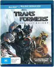 """TRANSFORMERS: THE LAST KNIGHT"" Blu-ray + Bonus Disc - Region [B] NEW"