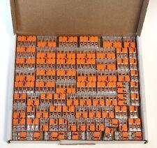 Wago 221 Klemmen SET 50x 221-412, 221-413, 221-415 Kabel Verbinder Original