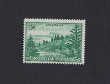 1959 Norfolk Islands SG 6a white paper muh