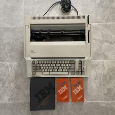 Ibm 6781 Personal Wheelwriter Electronic Typewriter Withaccessories Amp Manual Works