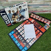 S Club 7 Board Game 2001 Susan Prescott 100% Complete VGC Indoor Family Pop...