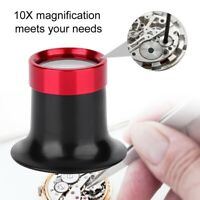 10X Eye Jeweler Watch Repair Tool Magnifying Glasses Magnifier Loupe New