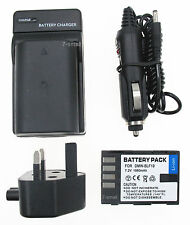 2XBattery + Charger for Panasonic Lumix DMC-GH4-YAGH DMC-GH4KBODY DMC-GH3KBODY