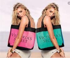 $78 Victoria's Secret LE 2015 Colorblock! Tote Shopper Beach Gym Bag Pink Black