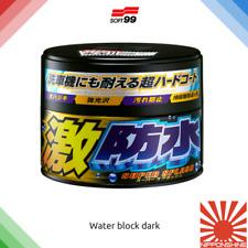 Soft99 Water block Dark Wax fast delivery NO IMPORT DUTY in EU