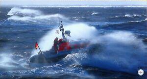 Ansichtskarte Seenotrettungskreuzer WILHELM HÜBOTTER