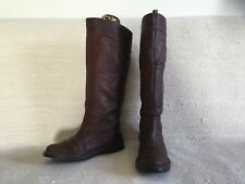Wonderful Pair Of Ladies Timberland Long Leather Boots Size 5 1/2