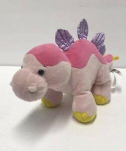 Ganz Webkinz Dinosaur Bubblegumasaurus Pink Plush Good Condition Fast Shipping