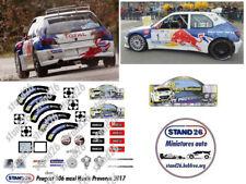 Decals stand26 Peugeot 306 Maxi Loeb rallye Haute Provence 2017 Altaya 1/43e